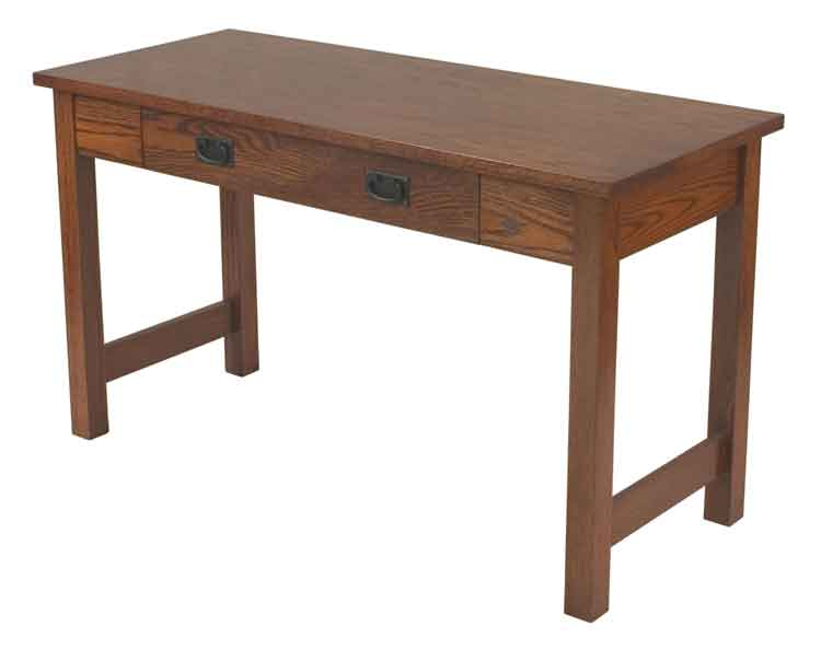 Amish Mission Open Leg Computer Table